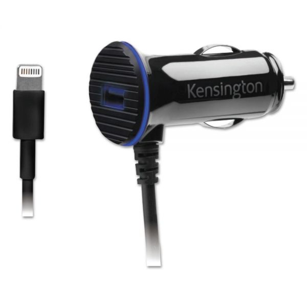 Kensington PowerBolt 3.4 Dual Port Fast Charge Car Charger