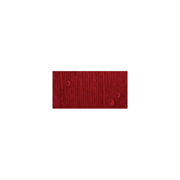 Patons Lace Sequin Yarn - Ruby