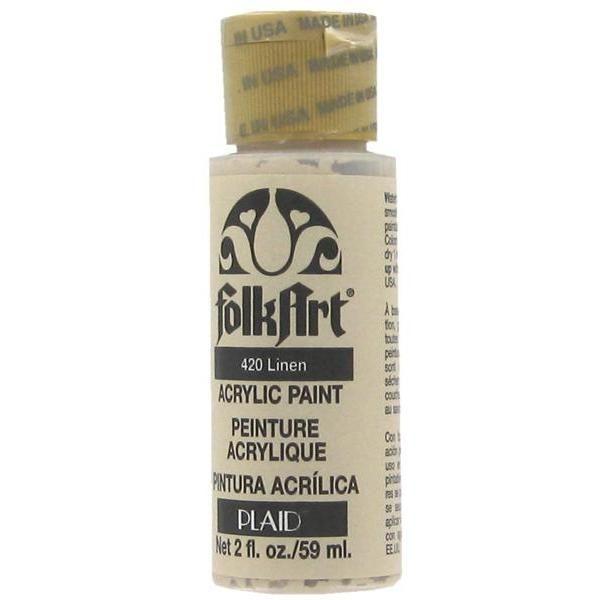 Folk Art Linen Acrylic Paint