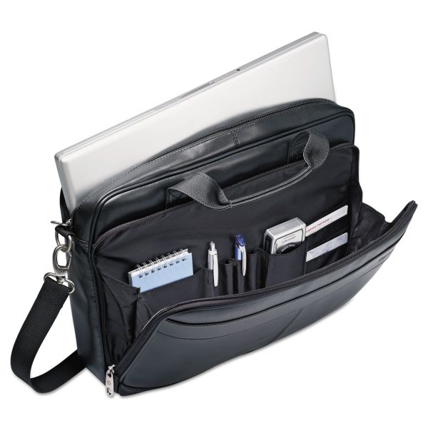 "Samsonite Carrying Case (Briefcase) for 15.6"" Notebook, Accessories - Black"