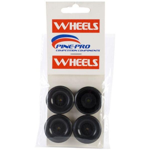 Pine Car Derby Wheels 4/Pkg