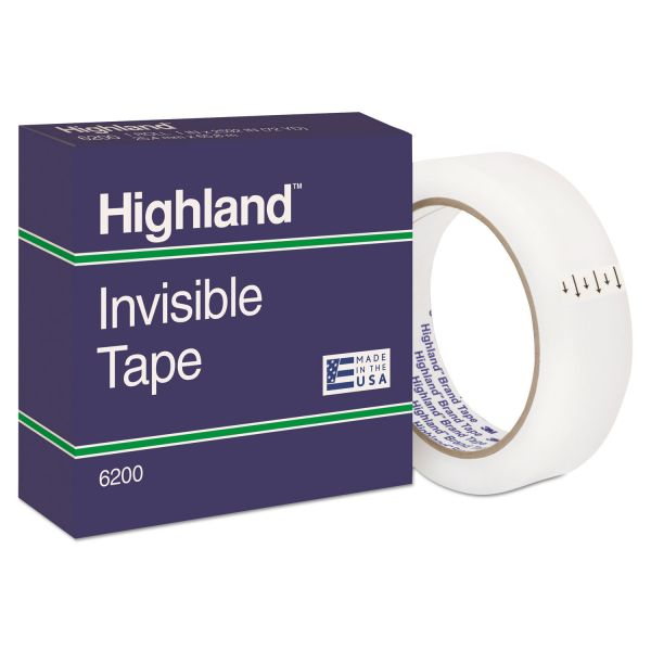 """Highland 1"""" Invisible Tape Refill"""