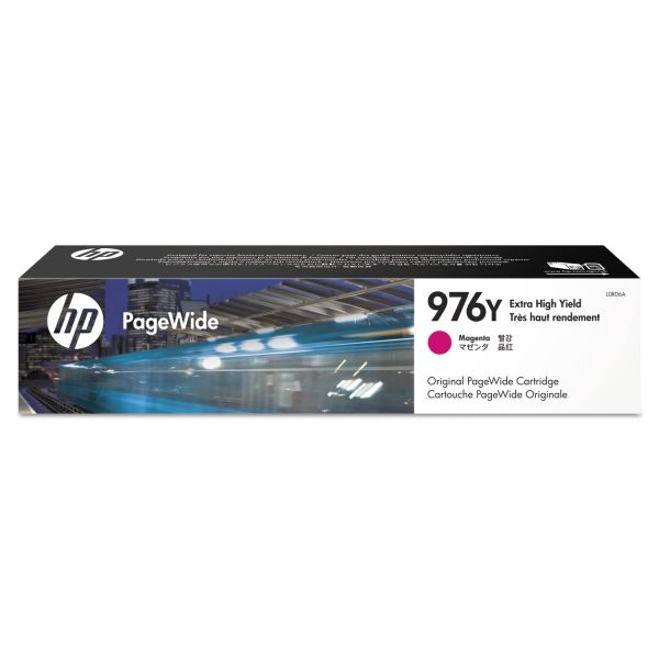 HP 976Y Magenta Ink Cartridge (L0R06A)