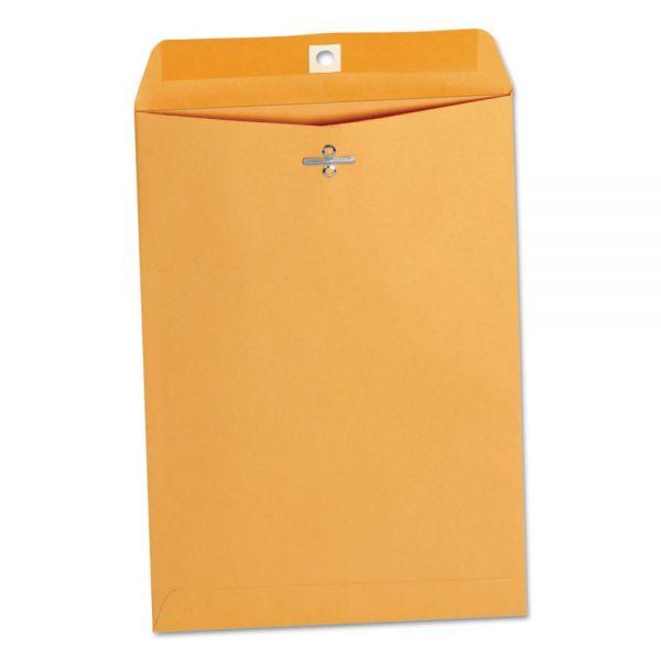 "Universal Gummed 7 1/2"" x 10 1/2"" Clasp Envelopes"