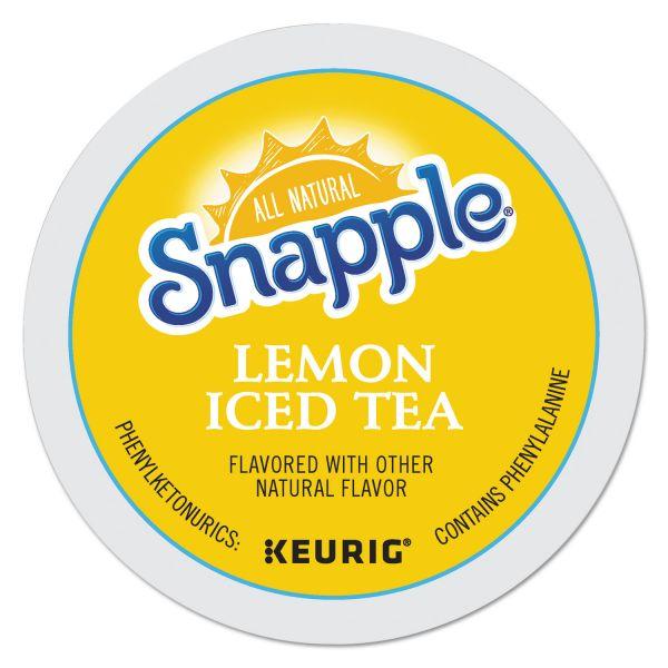 Snapple Lemon Flavored Iced Tea K-Cups