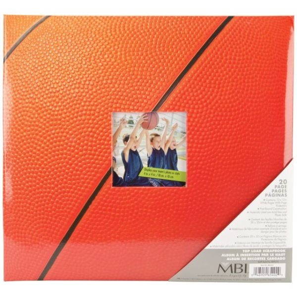 "Sport & Hobby Post Bound Album 12""X12"""