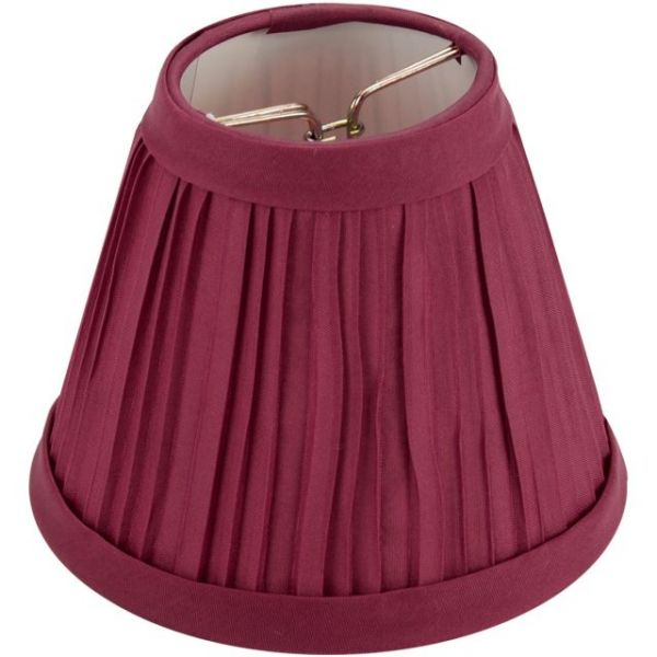 Darice Pleated Cloth Covered Lamp Shade