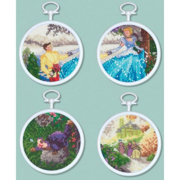 Cinderella Mini Vignettes Counted Cross Stitch Kit