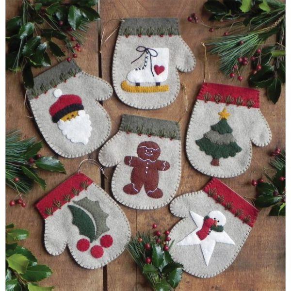 Warm Hands Ornament Kit 6/Pkg