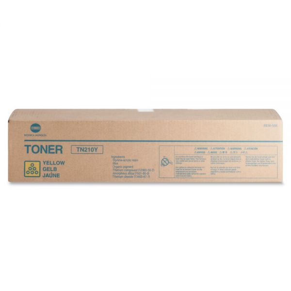 Konica Minolta TN210 Yellow Toner Cartridge