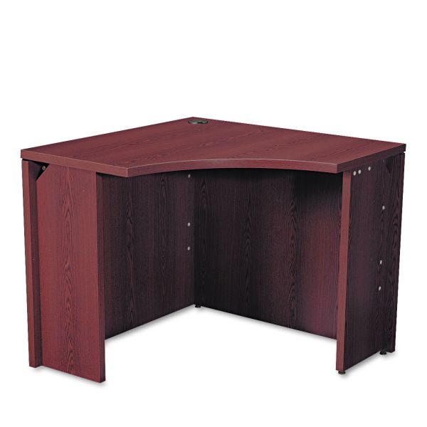 "HON 10500 Series Curved Corner Desk | 18""D"