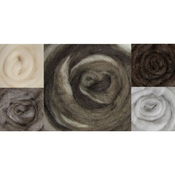 "Wool Roving 12"" 1.25oz"