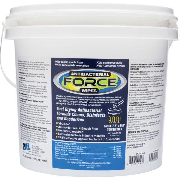 2XL CareWipes Antibacterial Plus Force Wipes
