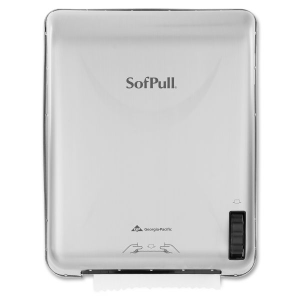 Georgia Pacific SofPull Recessed Mechanical Towel Dispenser