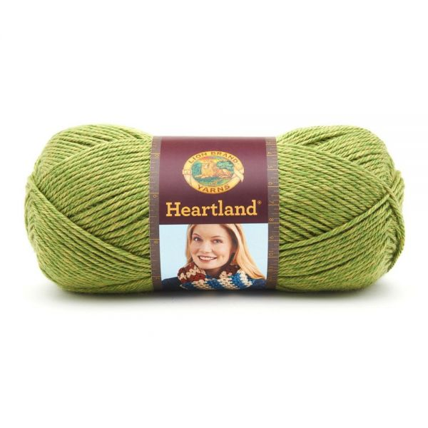 Lion Brand Heartland Yarn - Everglades