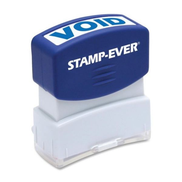 U.S. Stamp & Sign Pre-inked One-Clr Void Stamp