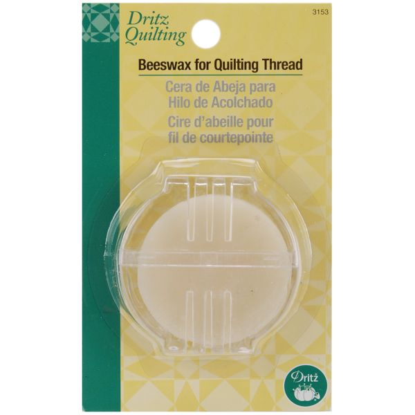 Dritz Quilting Beeswax W/Holder