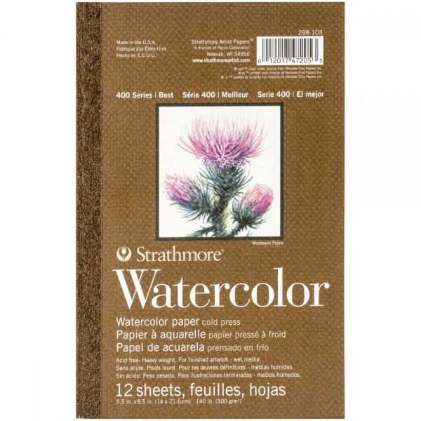 Strathmore Acid Free Watercolor Paper Pad