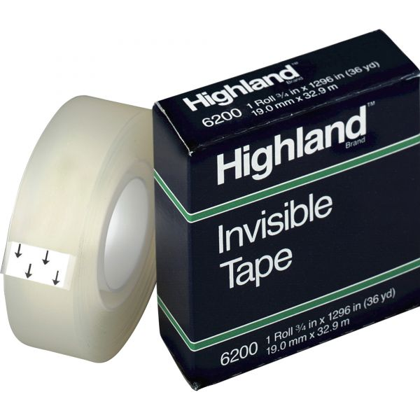 """Highland 3/4"""" Invisible Tape Refill"""