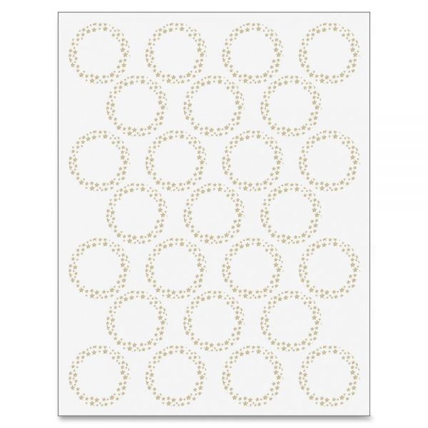Geographics Gold Star Foil Seals