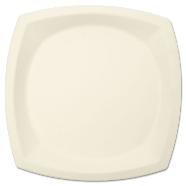 "SOLO Bare Eco-Forward 10"" Bagasse Plates"