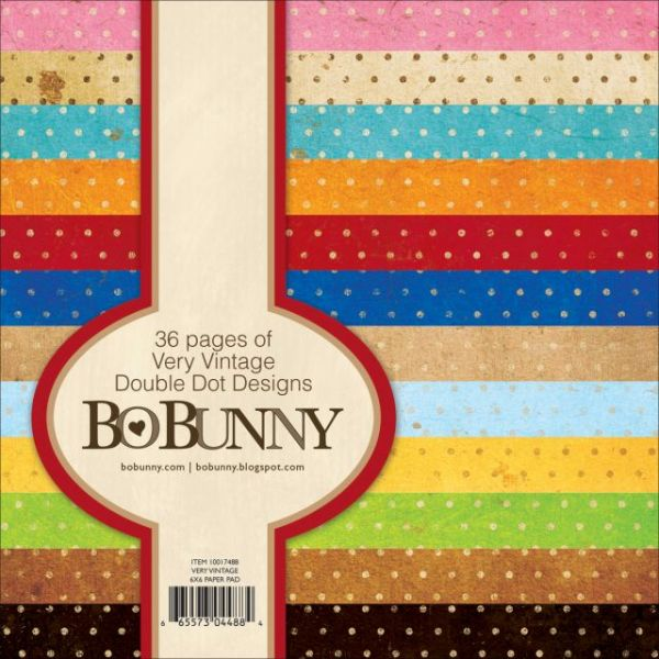 BoBunny Double Dot Paper Pad