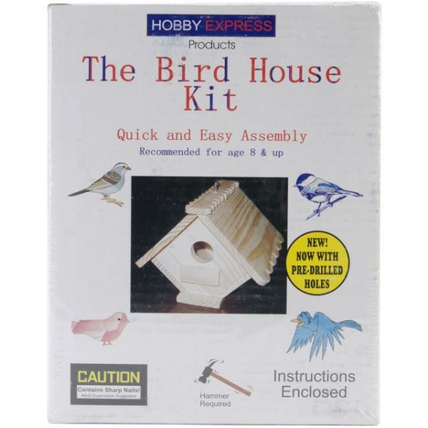 Hobby Express Bird House Kit