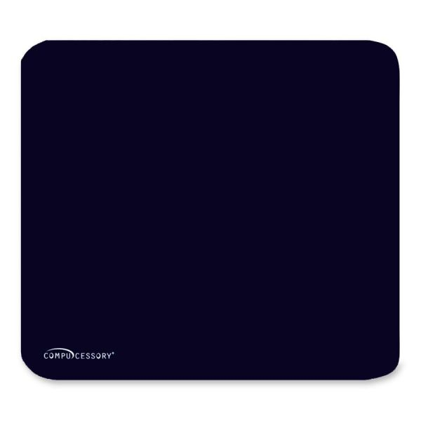 Compucessory Smooth Cloth Nonskid Mouse Pads