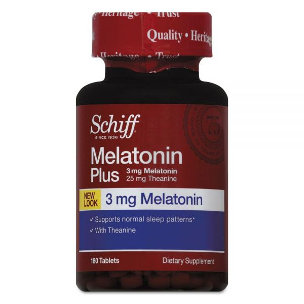 Schiff Melatonin Plus Tablets