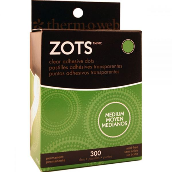 Therm-O-Web Zots Medium Clear Adhesive Dots