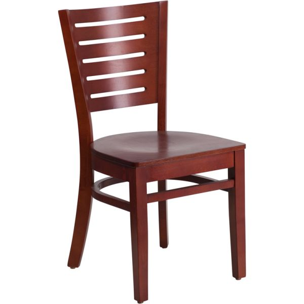 Flash Furniture Slat Back Wooden Restaurant Chair