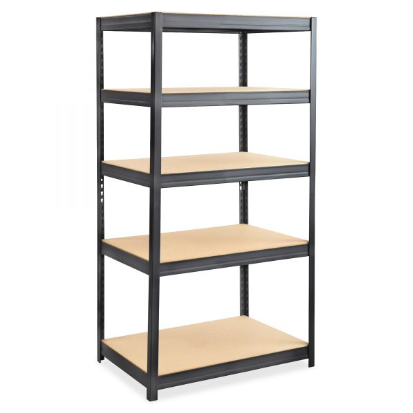 Safco Boltless Steel & Particleboard Shelving Unit