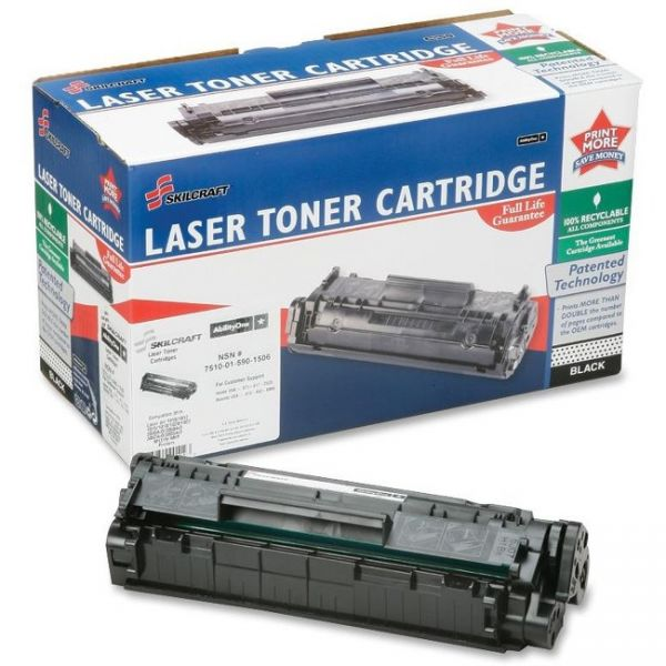 Skilcraft Remanufctured HP Black Toner Cartridge
