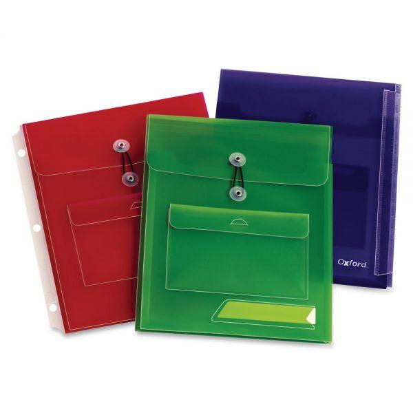 Oxford Poly Pocket Binder Envelopes