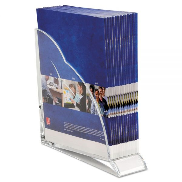 Swingline Stratus Acrylic Magazine Holder