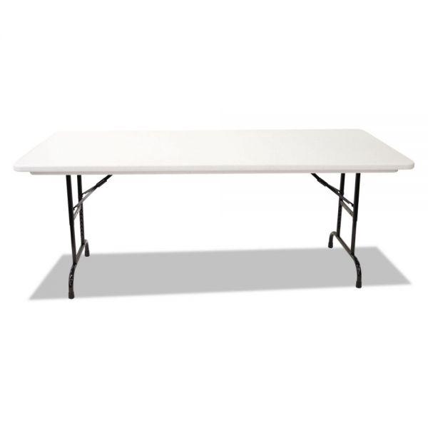 Alera Height-Adjustable Rectangular Folding Table