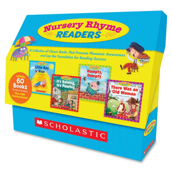 Scholastic Res. Nursery Rhyme Readers Bk Collection Education Printed Book - English