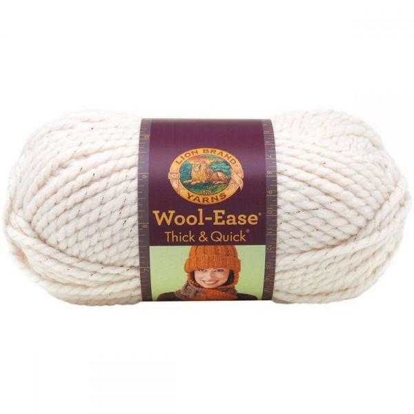Lion Brand Wool-Ease Thick & Quick Yarn - Starlight-Metallic