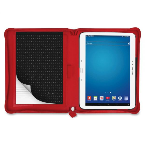 "Filofax Saffiano Carrying Case for 10.1"" Tablet - Poppy"