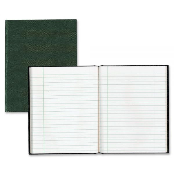 Blueline EcoLogix Notebook, 7 1/4 x 9 1/4, College Ruled, Hard Cover, White, 75 Sheets