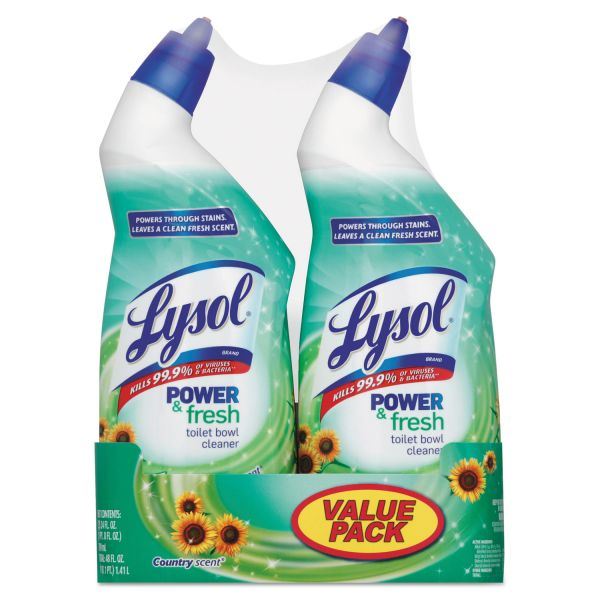 Lysol Cling Power & Fresh Toilet Bowl Cleaner