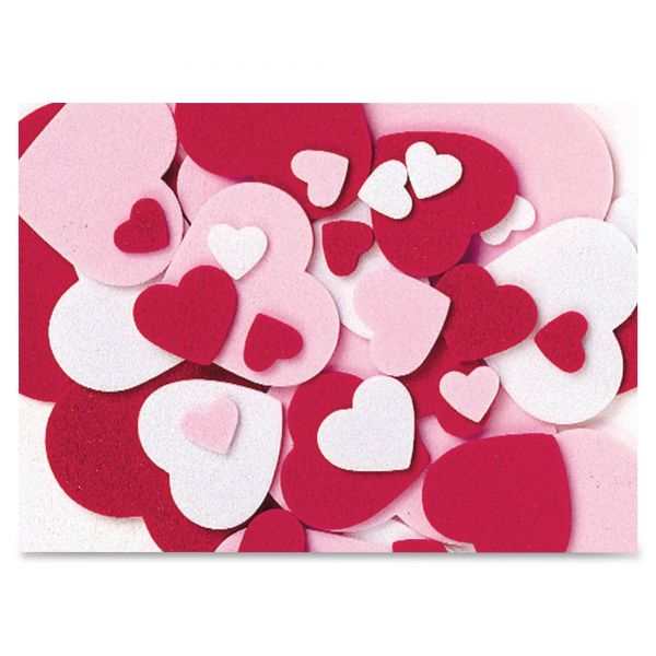 ChenilleKraft Peel and Stick Hearts