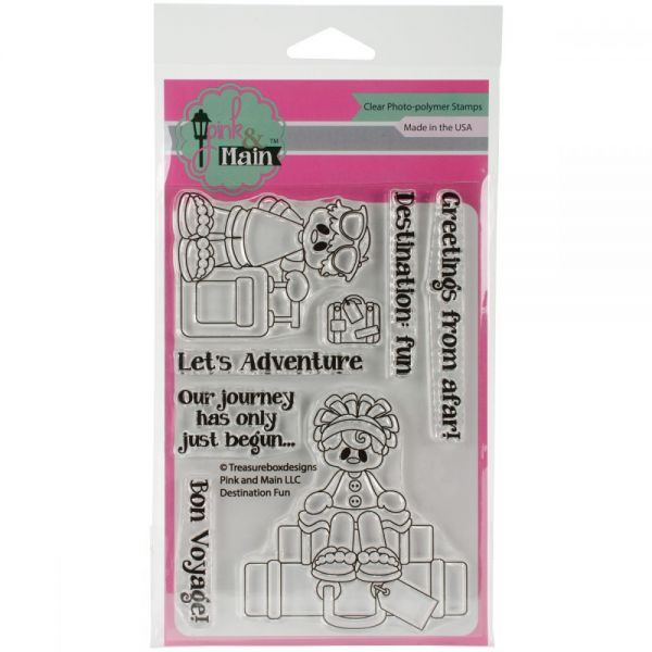"Pink & Main Clear Stamps 4""X6"""
