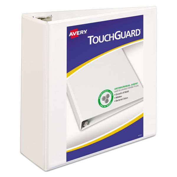 "Avery TouchGuard 4"" 3-Ring View Binder"