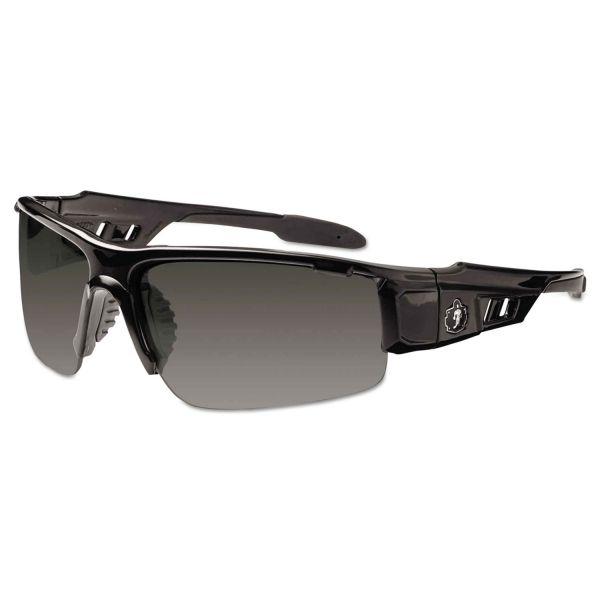 Ergodyne Dagr Smoke Lens Half Frame Safety Glasses