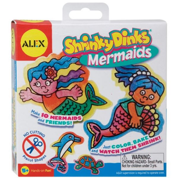 Shrinky Dinks Mermaids Kit