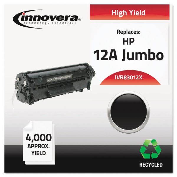 Innovera Remanufactured HP 12A (Q2612X) Toner Cartridge