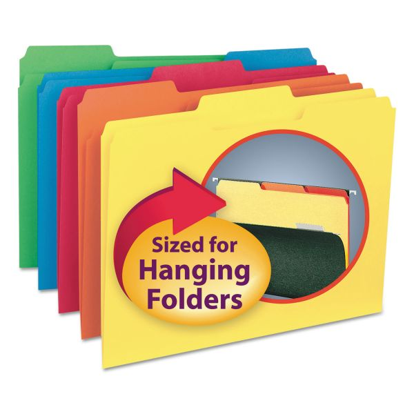 Smead Colored Interior File Folders