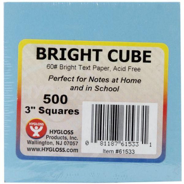 """Paper Cube 3""""X3"""" 500 Sheets/Pkg"""