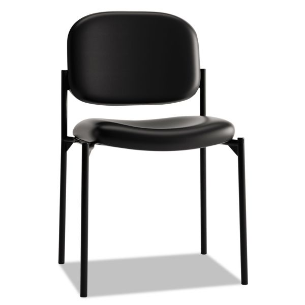 basyx VL606 Series Armless Stacking Chair